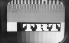 İlk TRT Televizyon Yayın Resmi